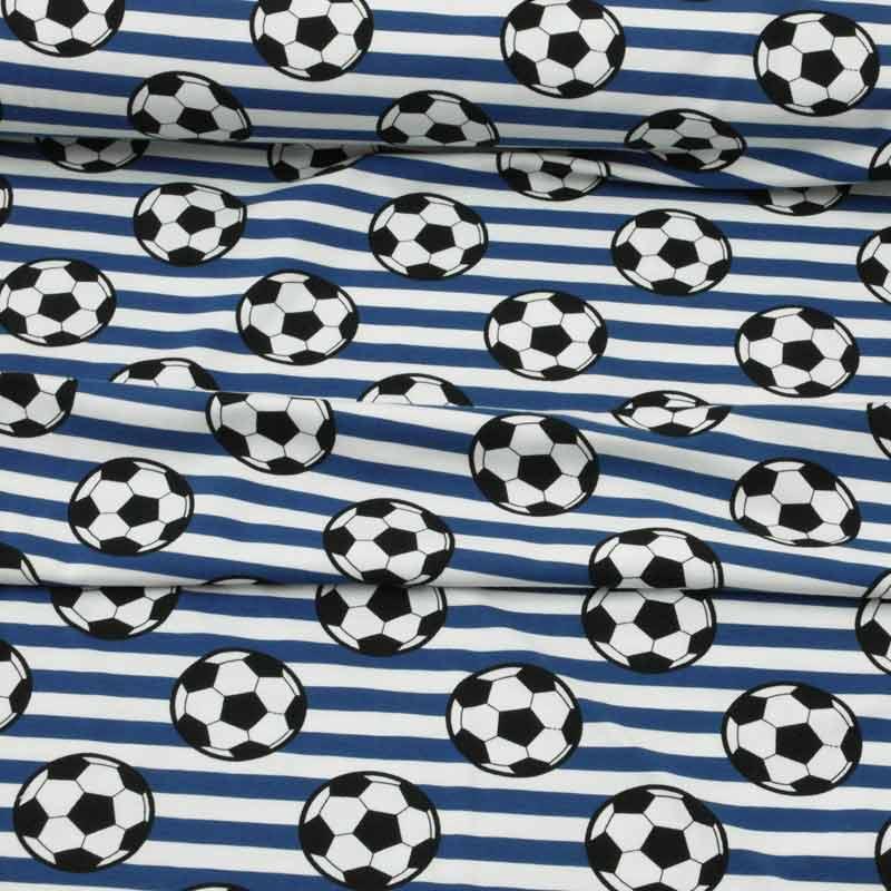 Kinder Jersey Fussball Blau