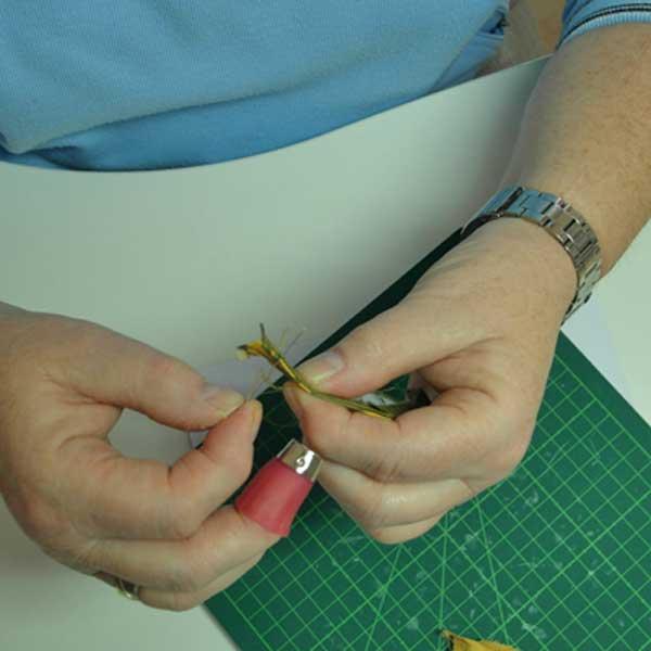 Anleitung English Paper Piecing Rose Decoration Das Kreativ Atelier