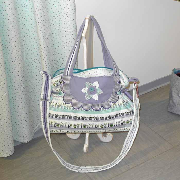 Westfalenstoffe-Provence-Muster-Tasche