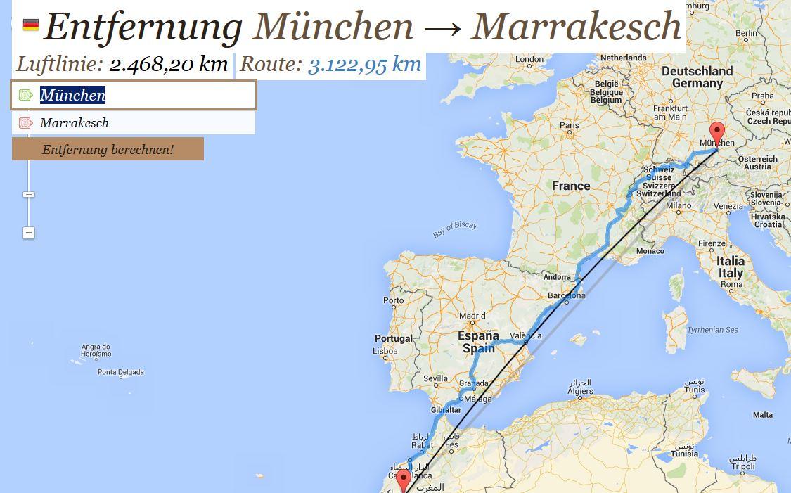 Fluglinie-M-nchen-Marrakesh