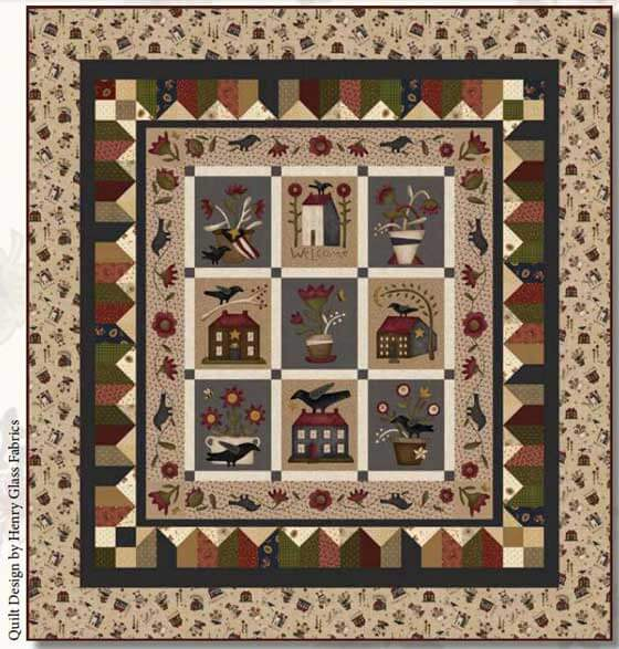 henry_glass_buttermilk_blossoms_quilt_panel_560