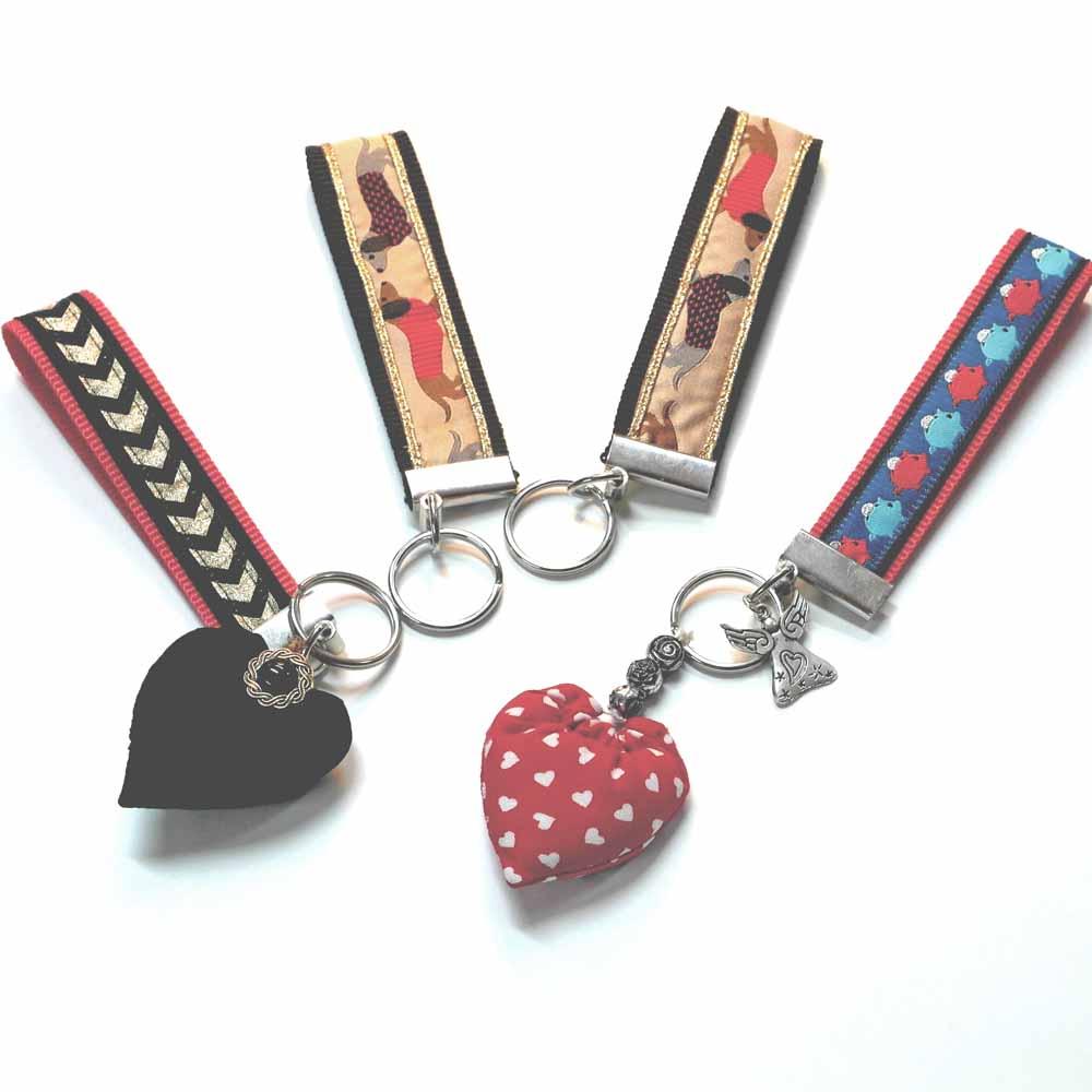 Beliebt Schlüsselanhänger selbstgenäht | Rose Decoration - Das Kreativ-Atelier YB24