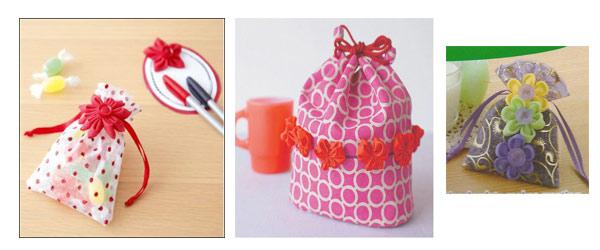 Clover-Kanzashi-Schablonen-Geschenkverpackung