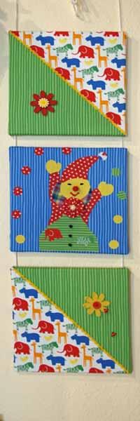 Westfalenstoffe-Junge-Linie-Wandbild