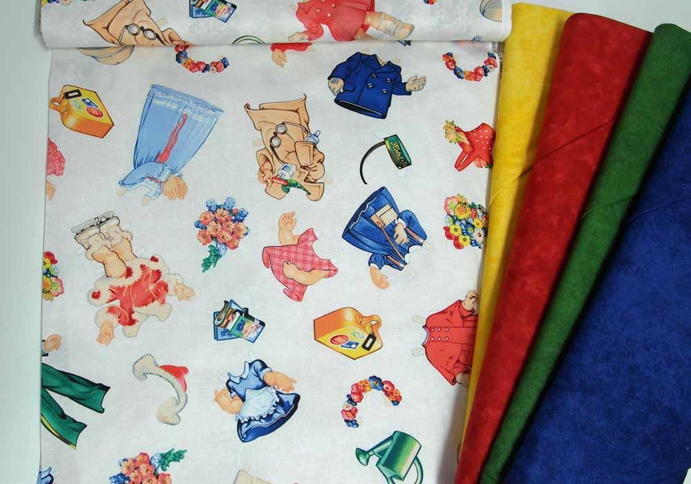 S80146_Patchworkstoffe_Bluehill_Fabrics_Victorian_Paper_Dolls_Anziehpuppen_2a