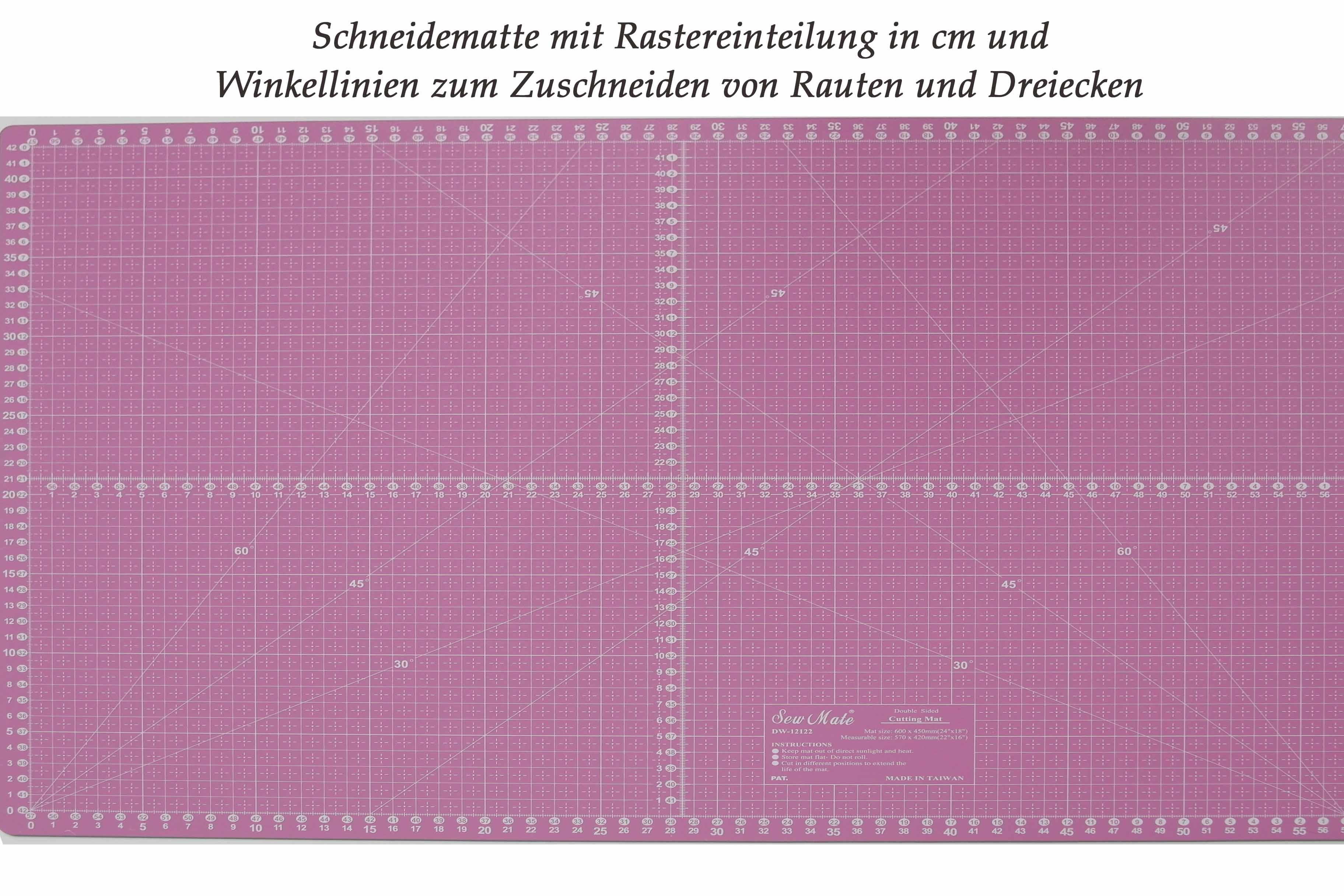 Rollschneider-Unterlage-Rose-Decoration