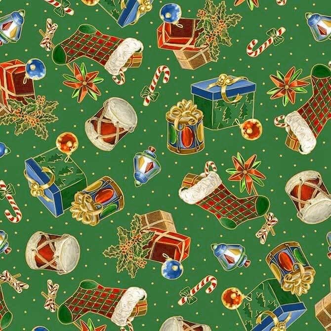 quilting treasures patchworkstoff christmas eve weihnachtsgeschenke grun rose decoration das kreativ atelier