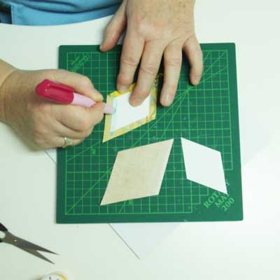 English-Paper-Piecing-Kleben-1