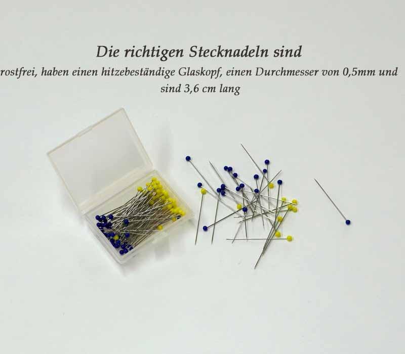 Patchwork-Stecknadeln-Rose-Decoration