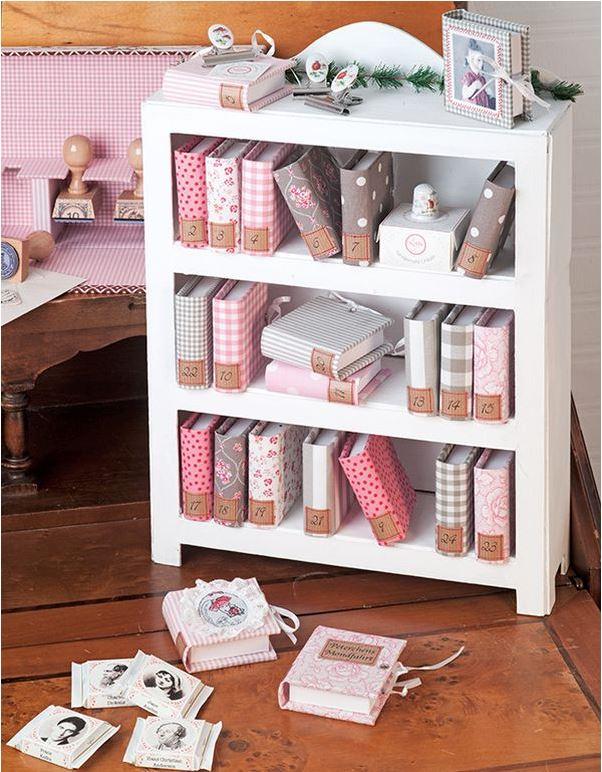 lotti 39 s adventskalender manufaktur rose decoration das kreativ atelier. Black Bedroom Furniture Sets. Home Design Ideas
