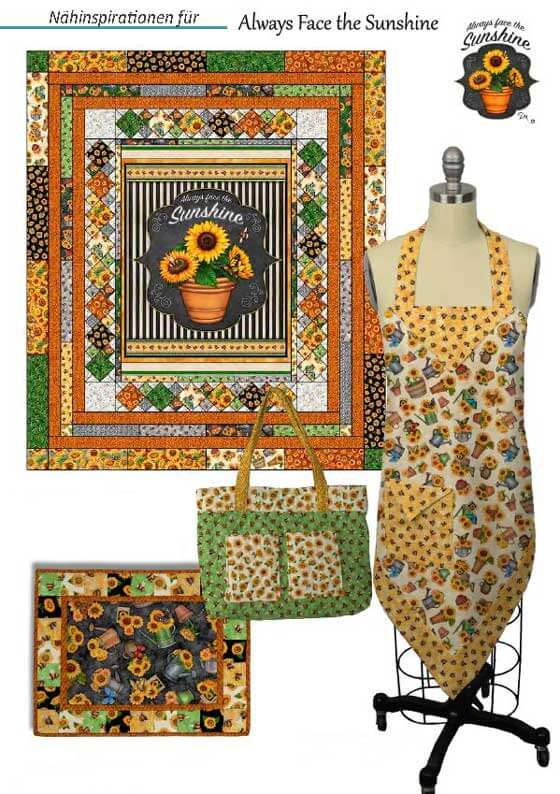 naehinspirationen_quilting_treasures_always_face_the_sun