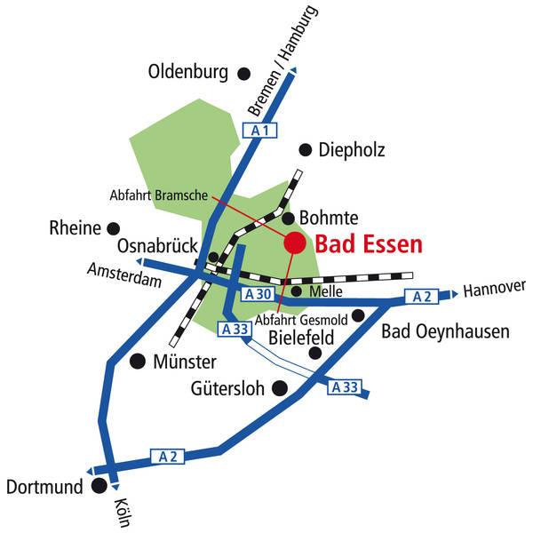 Anfahrt-Bad-Essen