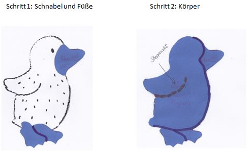 Rose-Decoration-Applikation-kleiner-Pinguin