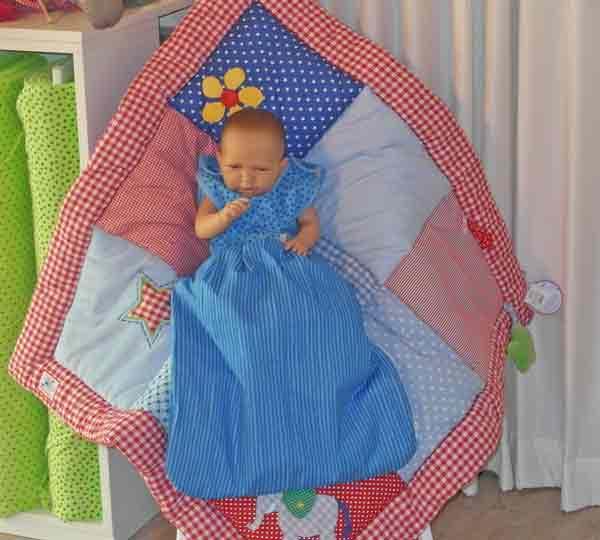 Westfalenstoffe-Babystrampler