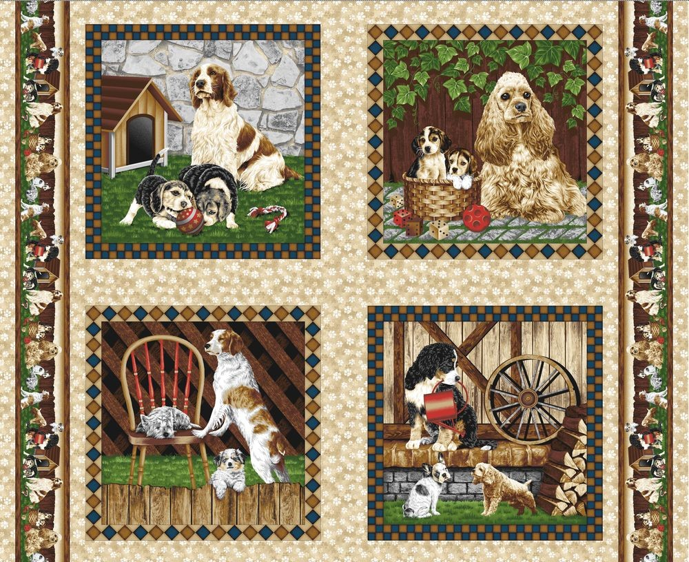 s28941_fabri_quilt_four_paws_panel_hunde
